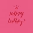 Happy Birthday Embellishments - Card 3
