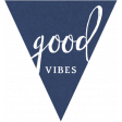 Summer Day Elements - Good Vibes Tag