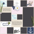 Summer Day Album Pages - PSD - Page 3