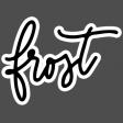 Winter Day Elements - Frost Sticker