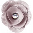 Winter Day Elements - Pink Paper Flower