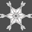 Winter Day Elements - Star 2 Glitter