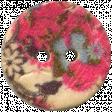 Design Pieces No.8  - Floral Button