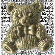 Buttons No.7  - Bear