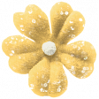 Family Day Elements - Yellow Flower