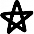 Star & Sparkle Shapes 043