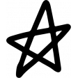 Star & Sparkle Shapes 046