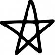 Star & Sparkle Shapes 064