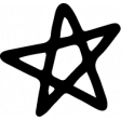 Star & Sparkle Shapes 067