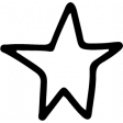 Star & Sparkle Shapes 093