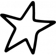 Star & Sparkle Shapes 095