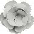 Flower 02 - Metal Accent - Template