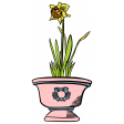 Our House Garden,Elements - Flower Pot 01