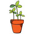 Our House Garden,Elements - Flower Pot 02