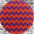 Bootiful - Fabric Button - Chevron