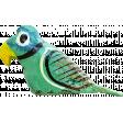 Our House - Garden, Element - Wooden Parrot