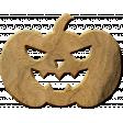 Bootiful - Wood Pumpkin 01