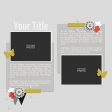 Rustic Charm - Layout Template 06