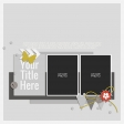 Rustic Charm - Layout Template 07