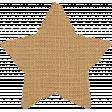 Reflections At Night Kit - Tan Burlap Star