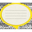 Reflections At Night - Yellow Speech Bubble