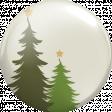 A Little Sparkle {Elements} - Green Christmas Trees Brad