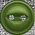 A Little Sparkle {Elements} - Green Plastic Button