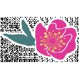 Good Day - Flower Sticker