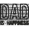 Dear Old Dad - Word Art 04