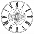Work Stamp - Clock Stamp