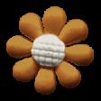 Autumn Day - Flower Button