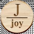 Christmas Day Elements - Joy Tag