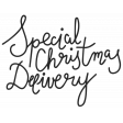 Christmas Day Elements - Word Art Special Christmas Delivery
