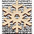 Christmas Day Elements - Wood Snowflake