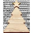 Christmas Day Elements - Wood Christmas Tree