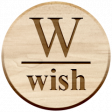 Christmas Day Elements - Wood Wish Tag