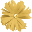 Christmas Day Elements - Yellow Flower