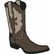KMRD-In Daddys Shoes-cowboyboot
