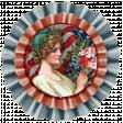 KMRD-Patriotic-ladywithflowersaccordionflower