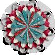 KMRD-Patriotic Flowers-W-flower