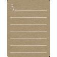 Toolbox Calendar 2 - General Doodled Journal Card - Rx