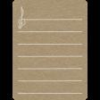 Toolbox Calendar 2 - School Doodled Journal Card - Treble Clef