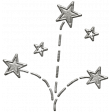 Toolbox Calendar - Metal Fireworks Doodle