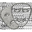 Toolbox Calendar - Metal Theatre Masks Doodle