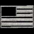 Toolbox Calendar - Metal Flag Doodle