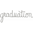 Toolbox Calendar - Metal Word Art - Graduation