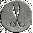 Toolbox Calendar - Scissors Doodle Coin