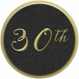 Our Special Day - Anniversary Sticker - 30th