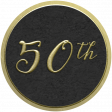 Our Special Day - Anniversary Sticker - 50th