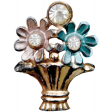 A Mother's Love - Flowers Brooch